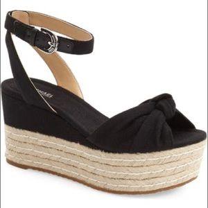 Michael Kors 'Maxwell' Platform Espadrille Sandals